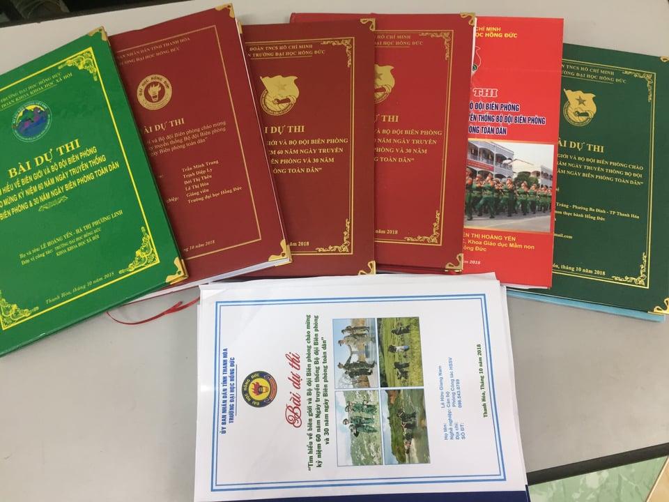 Tuổi trẻ trường Đại học Hồng Đức tham gia hưởng ứng