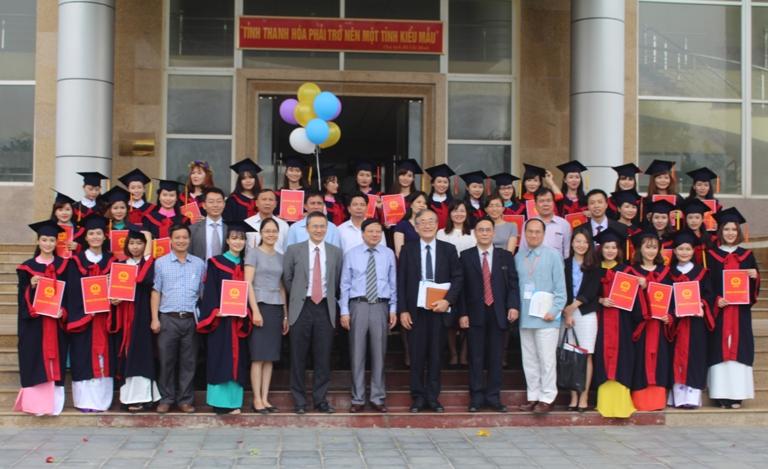 Trường Đại học Hồng Đức làm việc với đoàn cán bộ trường Đại học Việt - Nhật về hợp tác trong đào tạo và nghiên cứu khoa học