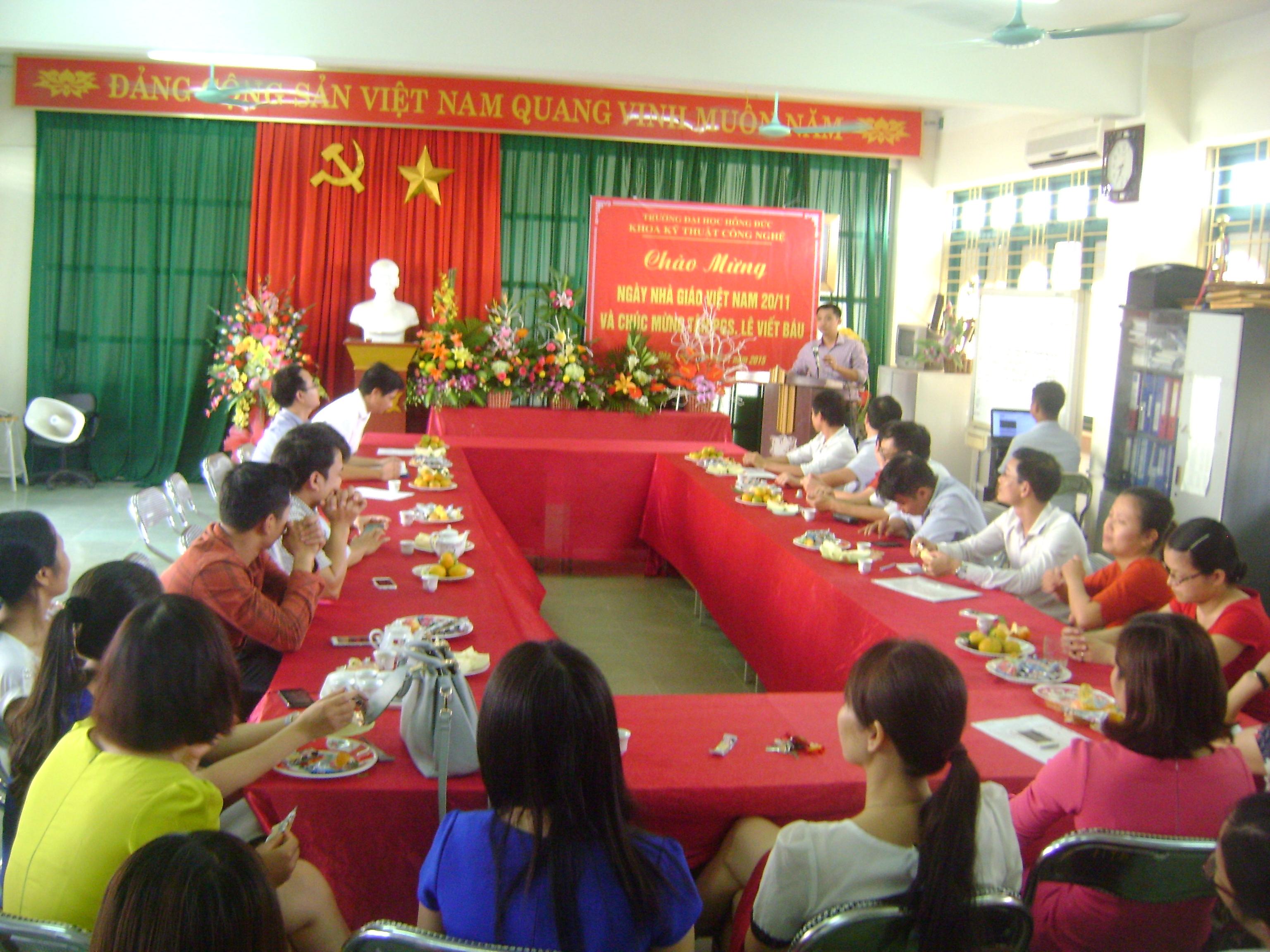 Một Số Hình Ảnh Tọa Đàm Ngày Nhà Giáo Việt Nam 20-11